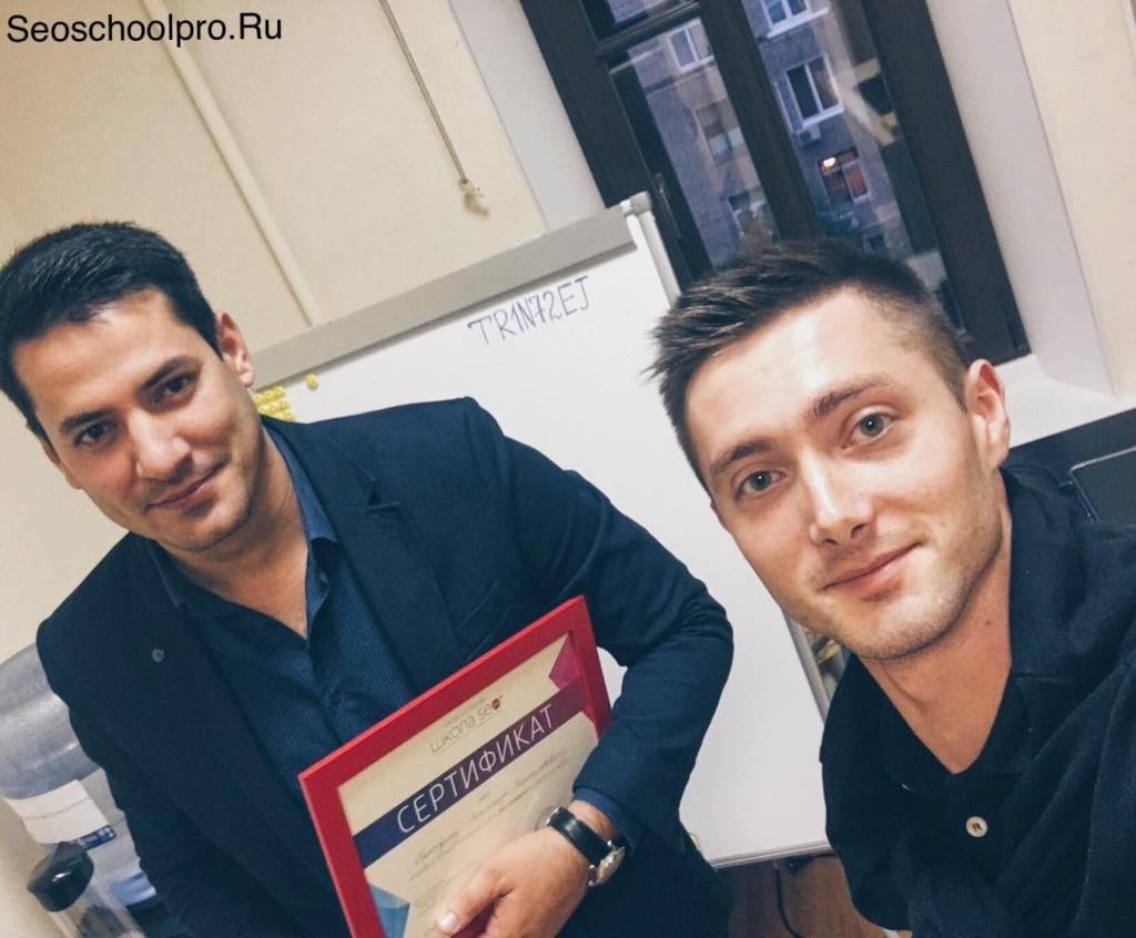 Михаил Мехрубонов и Олег Днепровский
