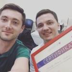 Олег Днепровский и Михаил Гончаров